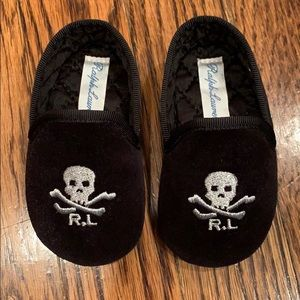 Ralph Lauren baby boy ash loafer